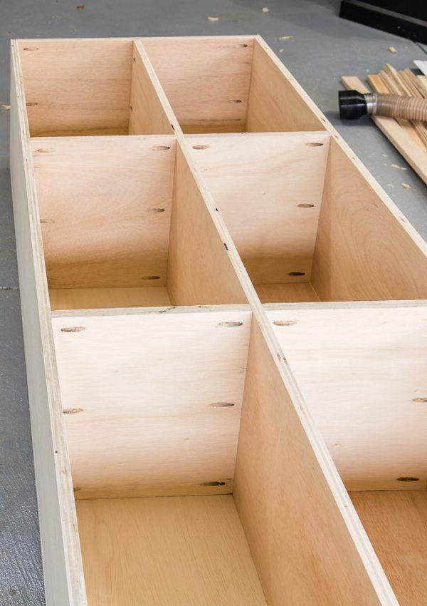DIY Bookshelves for a Built-In Desk {One Room Challenge Week 5}