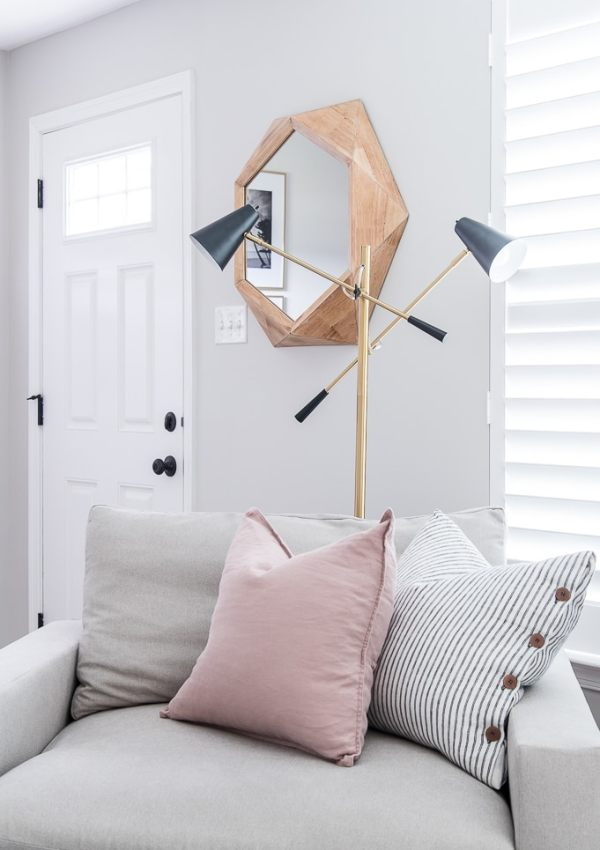 The Best Modern Accent Lamp {and Giveaway!}