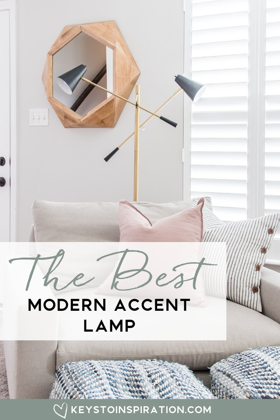 Groovy The Best Modern Accent Lamp And Giveaway Keys To Theyellowbook Wood Chair Design Ideas Theyellowbookinfo