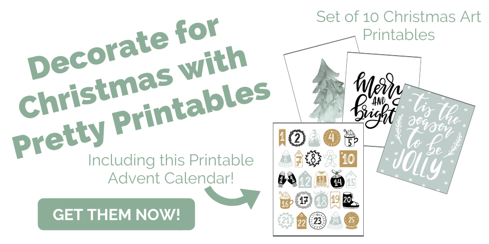 10 Modern Christmas Printables Header