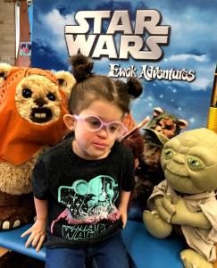 Celebrating Star Wars Day.