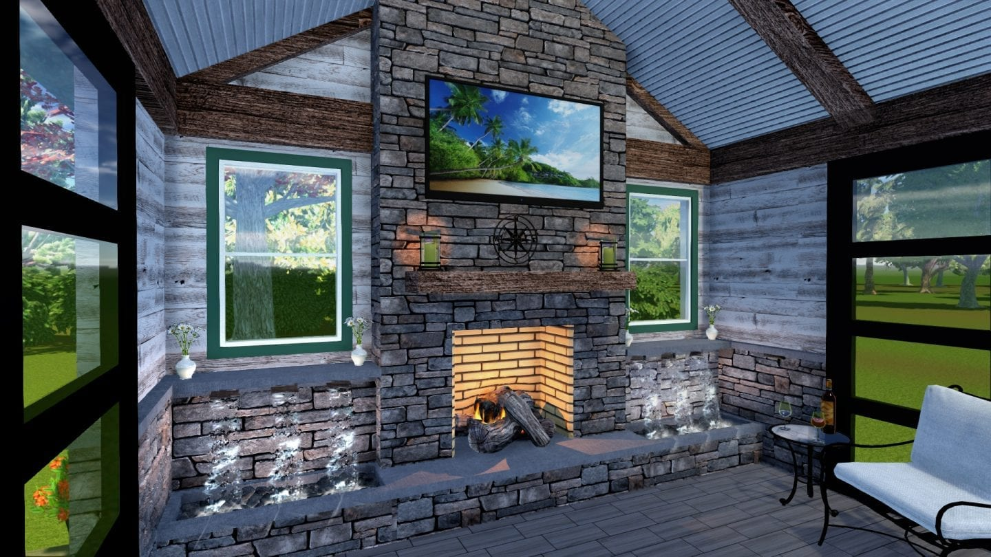 Outdoor Water Features: Fish Ponds, Patio & Deck ... on Backyard Feature Walls  id=95587