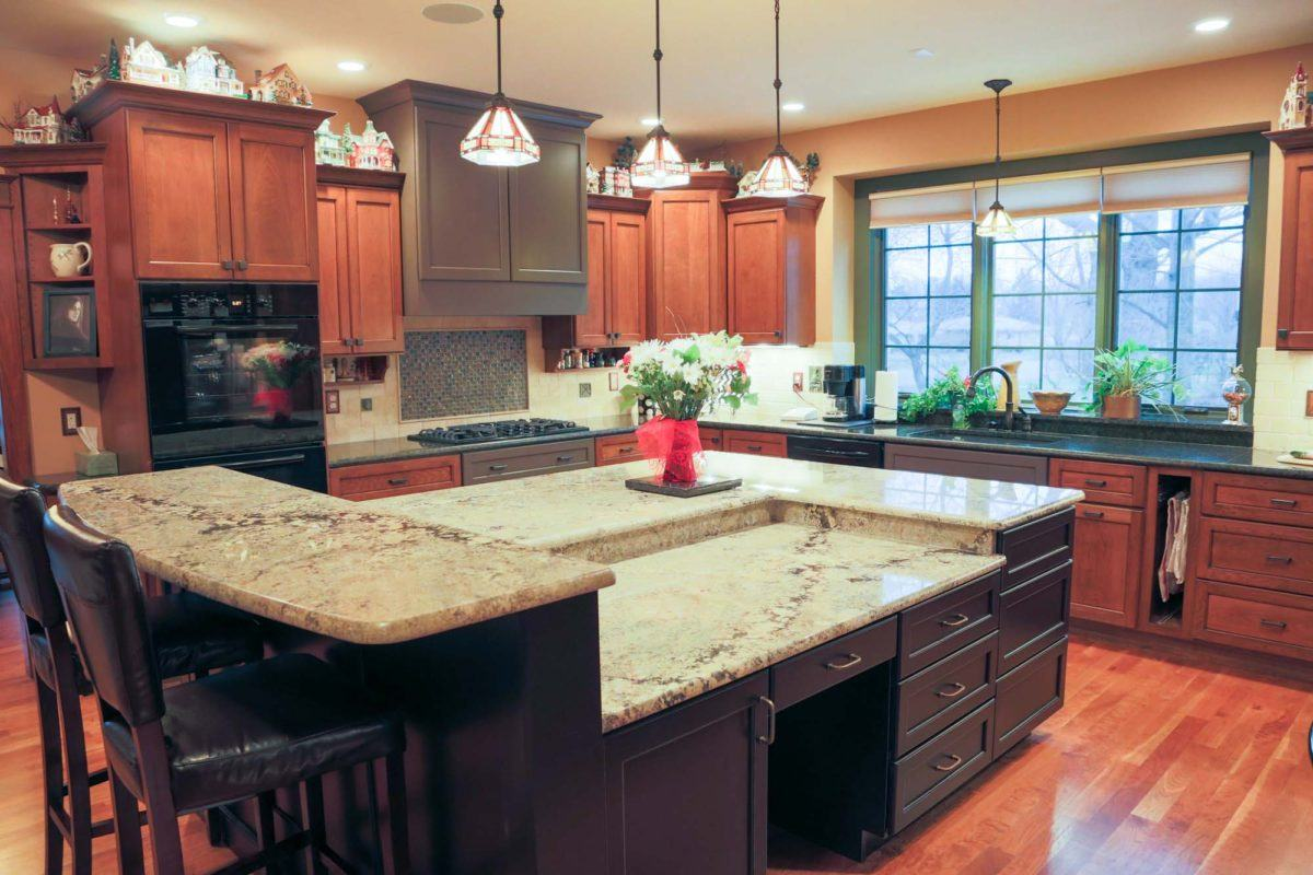 kitchen countertop remodel | gallery | keystone granitewerks