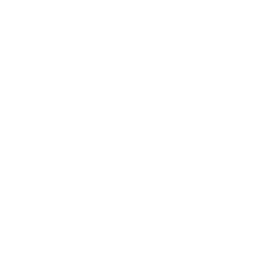 Powder Coated Tough Logo White