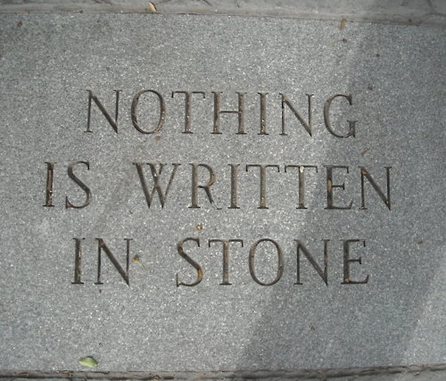nothing-is-written-in-stone