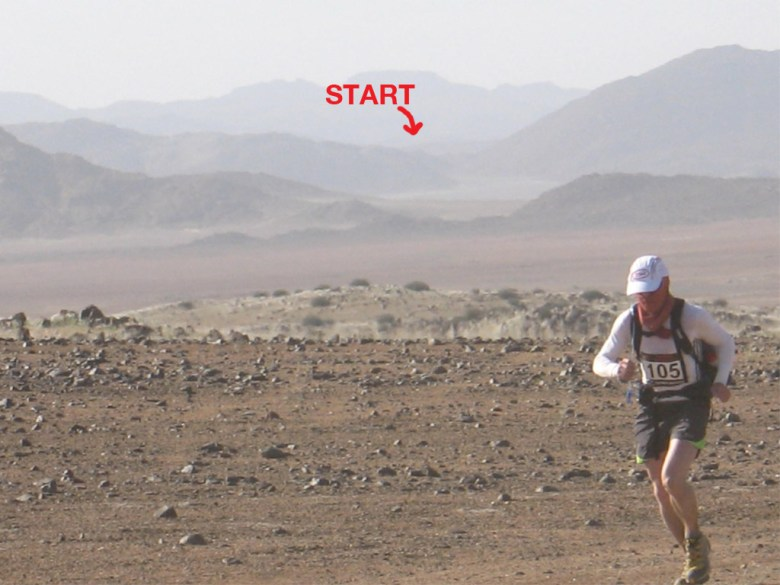 Tom McGuire, Winner of the 2008 Nambian Ultra Marathon