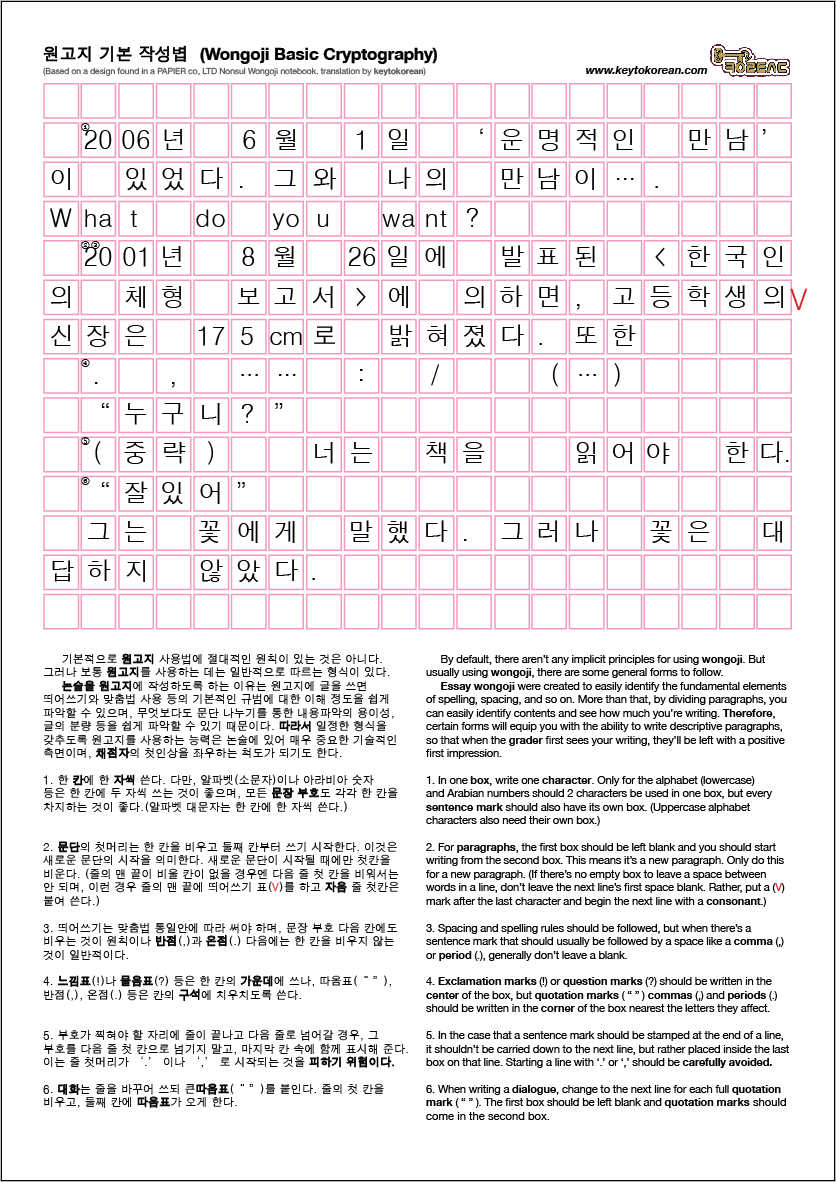 Learn the Korean alphabet known as Hangul quickly and easily