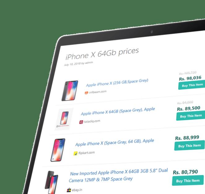 Affiliate Egg - Niche Affiliate Marketing WordPress Plugin - 1