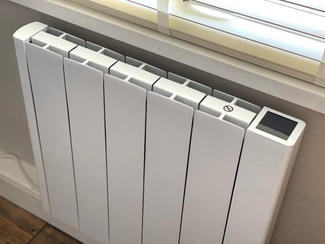 space saving electric radiator cheap to run