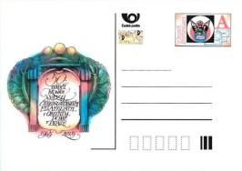 Příležitostná poštovní dopisnice CDV168