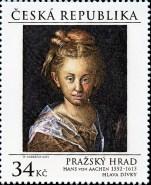 Pražský hrad - Hlava dívky Pof. č. 0850