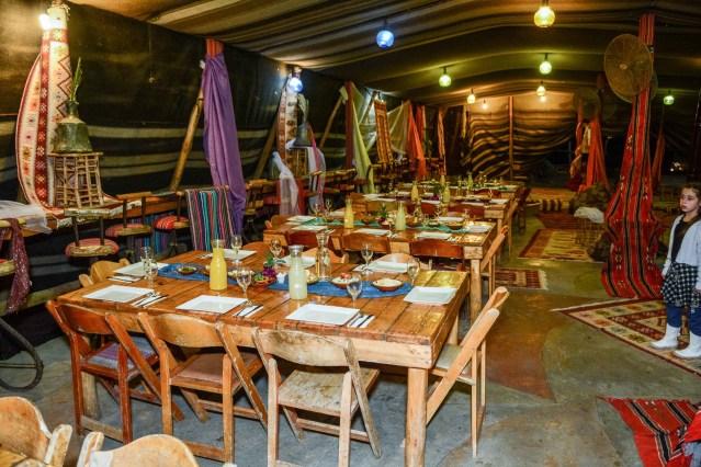 ארוחה בכפר הנוקדים
