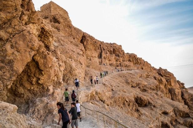 Bar Mitzva on Masada and Kfar Hanokdim