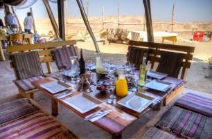 Feast in the desert