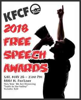 KFCF Free Speech Awards