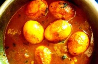 spicy egg curry recipe Indian stye