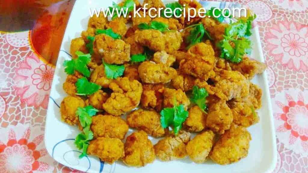 KFC original chicken popcorn