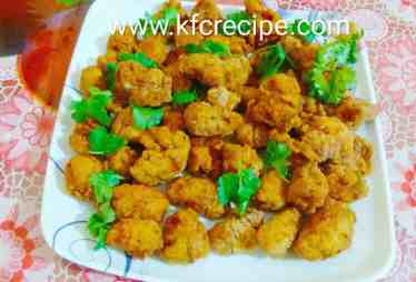 KFC original chicken popcorn