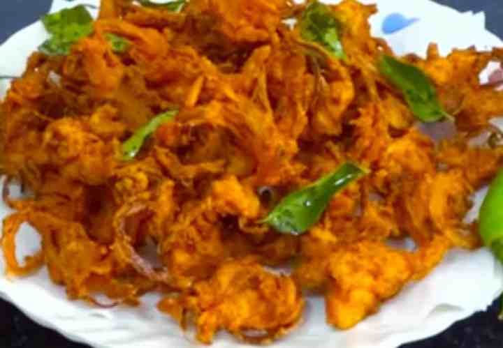 Crispy onion pakoda recipe