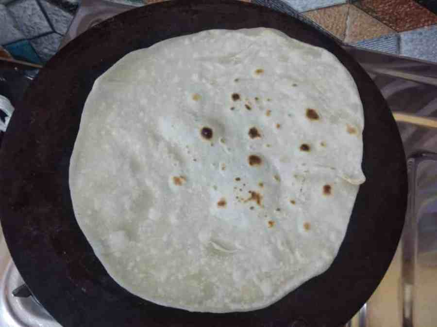 cooked chapati