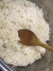 How to cook basmati rice in instant pot
