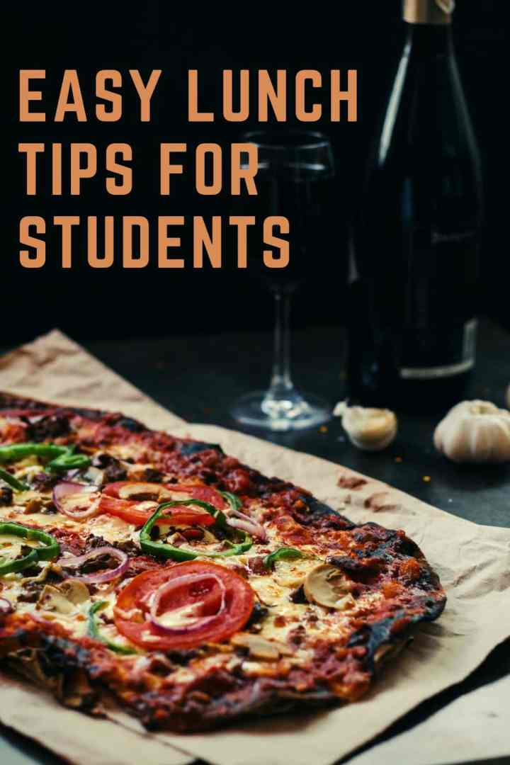 Lunch tips for students
