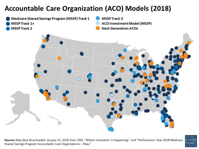 Accountable Care Organization Aco Models 2018 Kff
