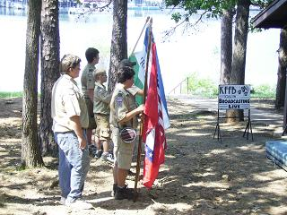 Boy Scouts Start the program