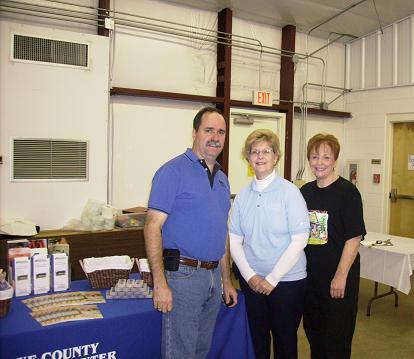Bob, Renee and Pat Reed