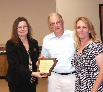 L –R Cathy Drew, Dave Timko & Karen Timko (Tom Biggs)