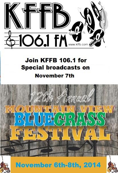 Mountain View Bluegrass Festival FALL 2014