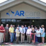 The ribbon was cut for the brand new location for ARcare of Heber Springs