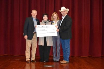 From left: Department of Arkansas Heritage Director Stacy Hurst, Lt. Gov. Tim Griffin, David Smith.