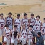 Final Sr Boys Nemo Vista VS Concord in the G.F.L.C. Basketball Tournament 2016 Championship Game
