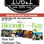 Join Timeless 106.1 KFFB at Bloomin' in the Bay, and Blues and BBQ this weekend in Fairfield Bay