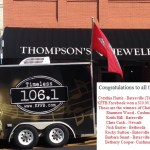 Congratulations to all the winners from Broadcast at Thompson's Jewelry in Batesville