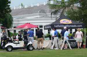 Hatfield generously sponsored our grilled lunch at two courses.