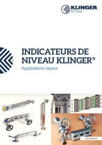 thumbnail of KLINGER INDICATEURS DE NIVEAU-catalogue 2