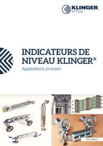 thumbnail of KLINGER INDICATEURS DE NIVEAU-catalogue 3