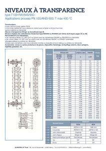 thumbnail of KLINGER INDICATEURS DE NIVEAU-fiche technique-application process niveaux 13