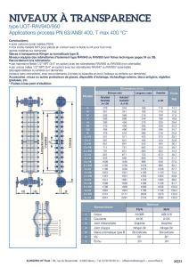 thumbnail of KLINGER INDICATEURS DE NIVEAU-fiche technique-application process niveaux 18