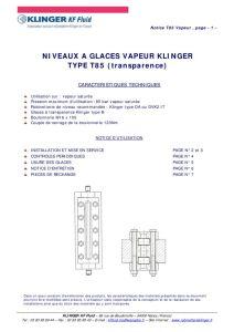 thumbnail of KLINGER INDICATEURS DE NIVEAU-insttruction de montage 7