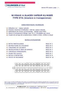 thumbnail of KLINGER INDICATEURS DE NIVEAU-insttruction de montage 9