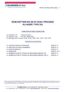 thumbnail of KLINGER INDICATEURS DE NIVEAU-robinetteries 1