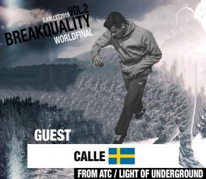 Bboy Calle For Breakquality breakdance switzerland by kfm life