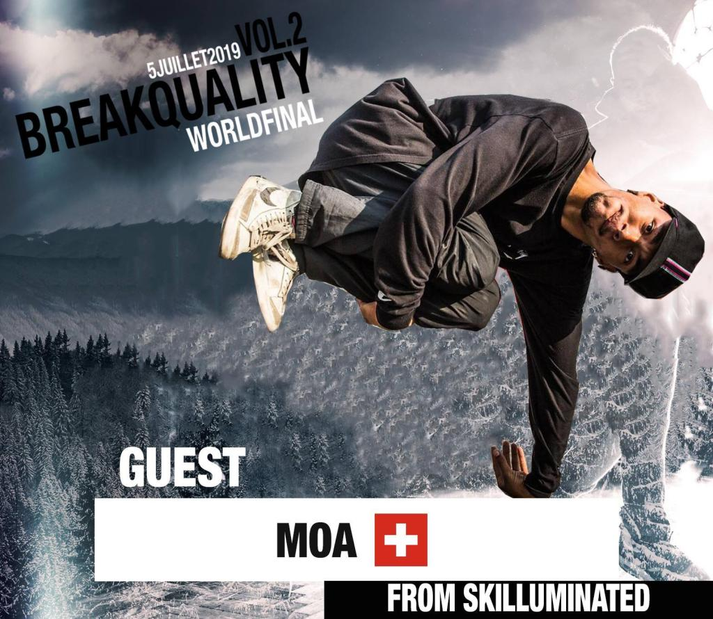 Bboy moa for breakquality KFM Life Switzerland