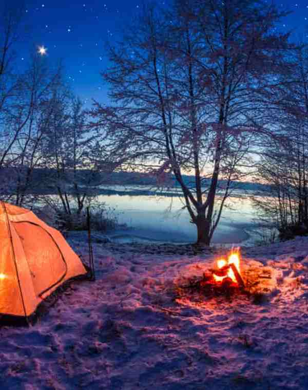 Image Of Camping ground Iceland