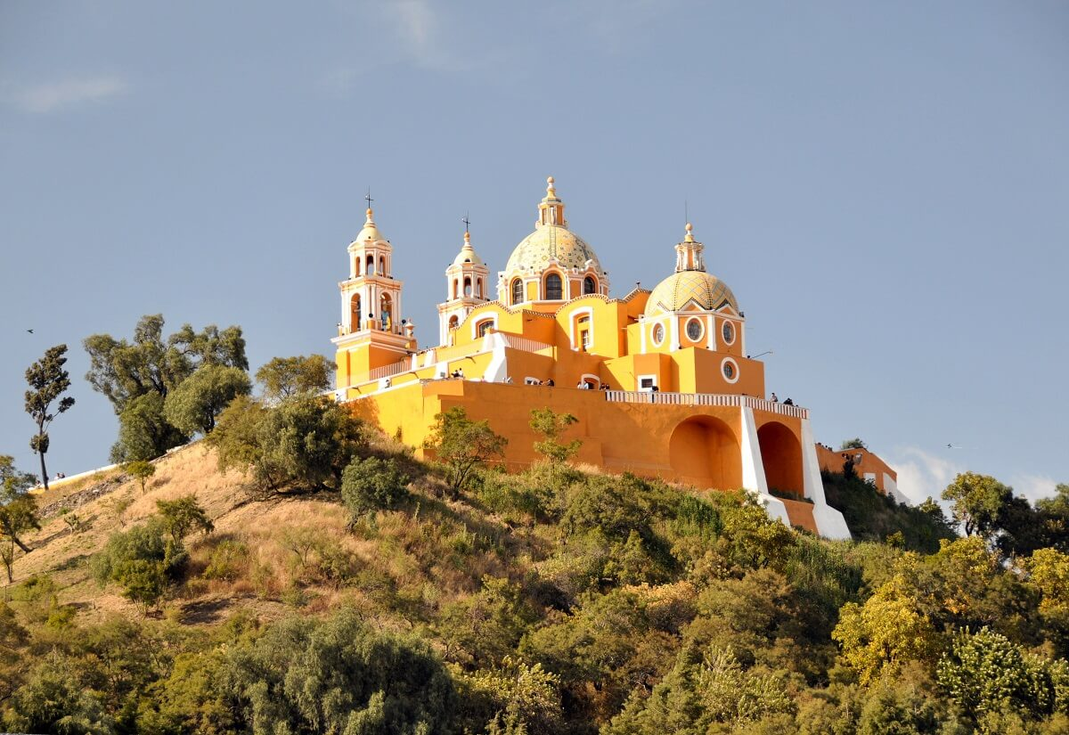 Great Pyramid of Cholula, Mexico
