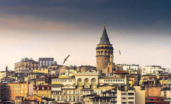 Galata Tower, Istanbul , Turkey