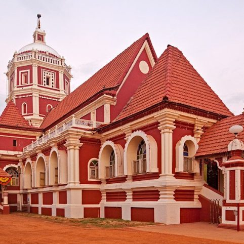 Shantadurga temple in Kavalem